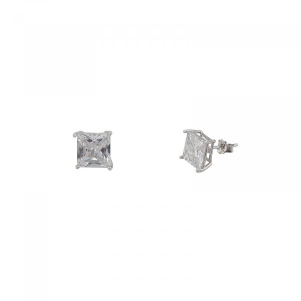 Cercei patrati de 5mm din Argint 925% [1]