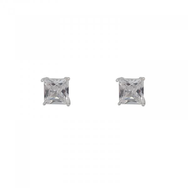 Cercei Argint 925% zirconiu patrat 1506SQW6 [0]