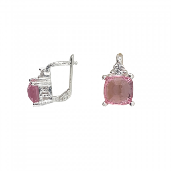 Cercei Funy Pink din Argint 925% ,cod 1996B [1]