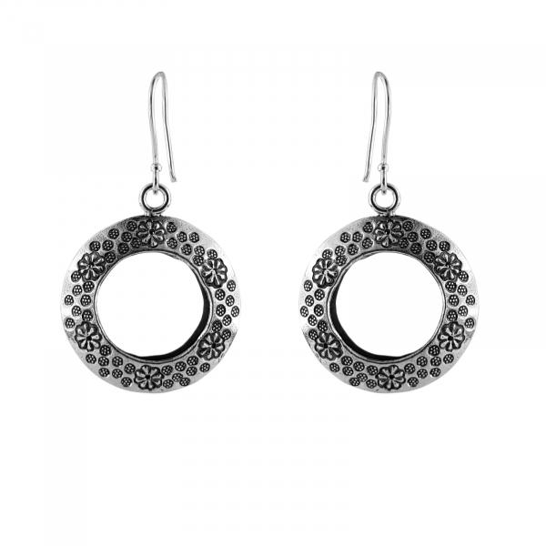 Cercei Argint 925% Round Fashion [0]