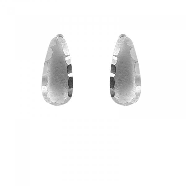 Cercei Argint 925% cu aspect mat-lucios [2]