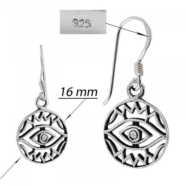Cercei Argint 925%  Magic Eye [2]