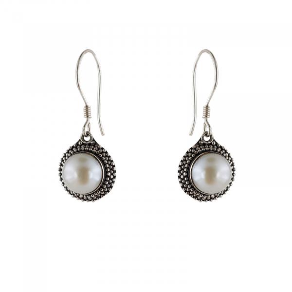 Cercei Argint 925% cu perla Fancy Shell [0]