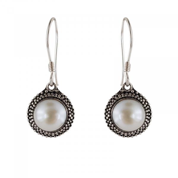 Cercei Argint 925% cu perla Fancy Shell [1]