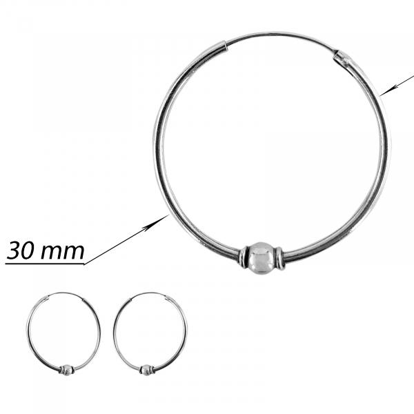 Creole Argint 925%  de 30mm diametru [2]