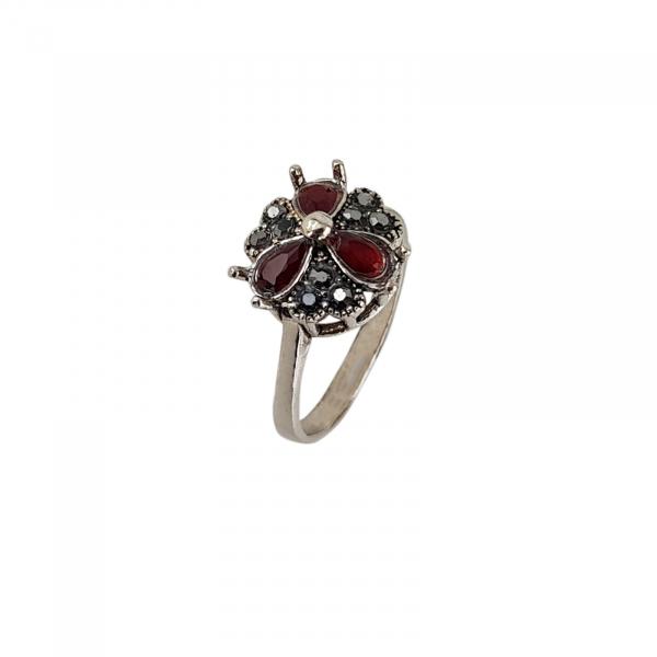 Inel Argint 925% cu marcasite Royal [0]