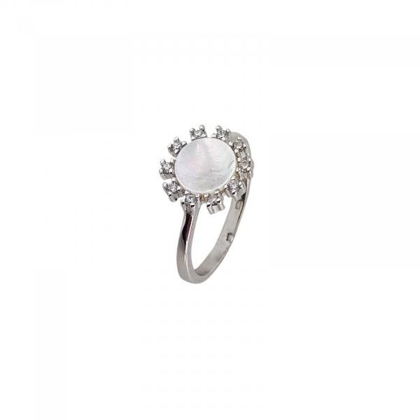 Inel Argint 925% cu sidef [0]