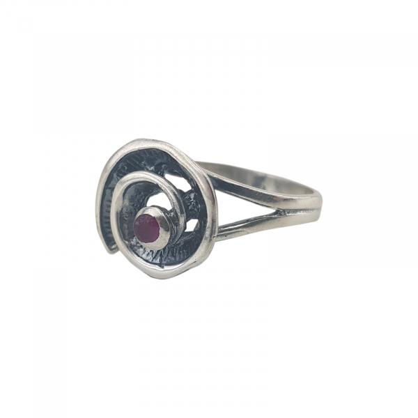 Inel argint 925% spiralat 1941 [1]