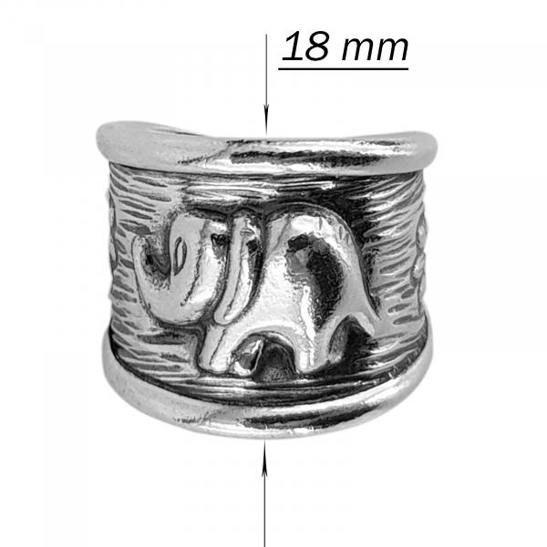 Inel reglabil din Argint 925% Indra [3]