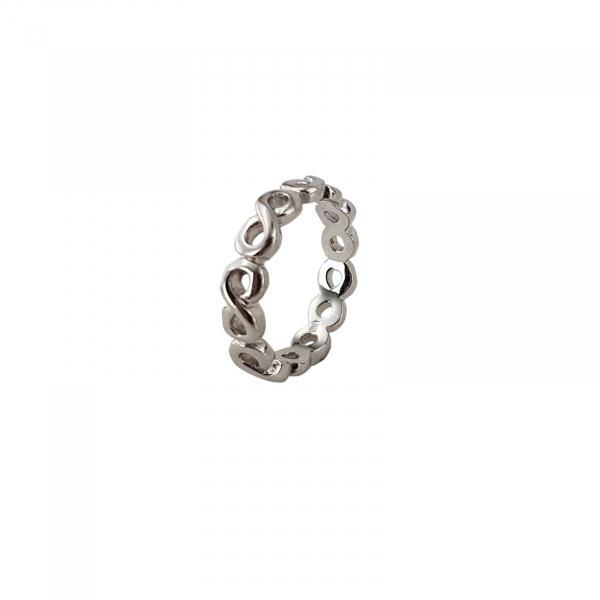 Inel Argint 925% cu simbolul infinitului [0]