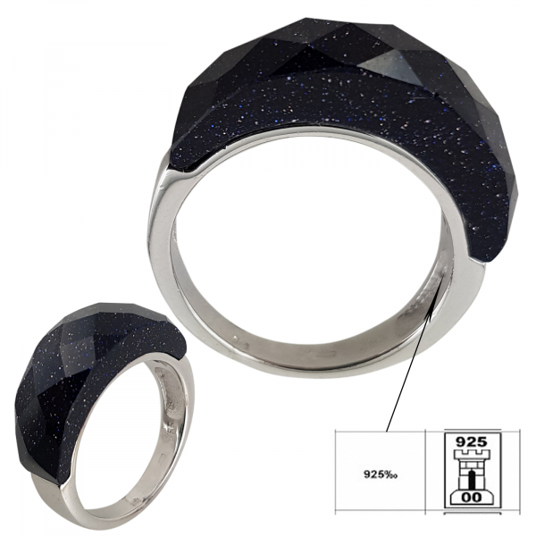 Inel Argint 925% Piatra Stelei [1]