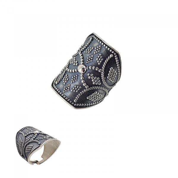 Inel Argint 925% reglabil Mystic Grey [1]