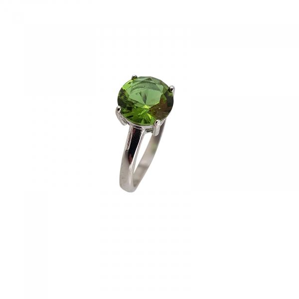 Inel Argint 925% Magic Green cu zultanit [0]