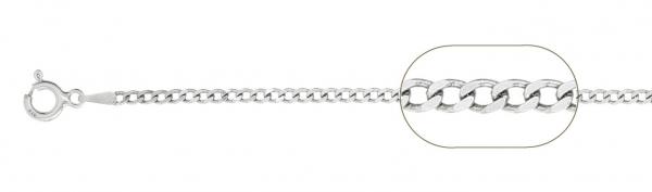 Lant Argint 925% barbati grumetta-flat,65cm [2]
