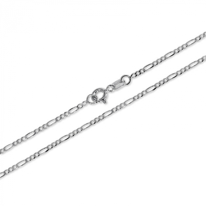 Lant Argint 925% model Figaro 55cm [1]