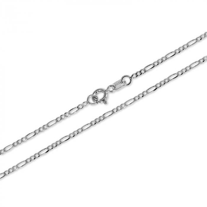 Lant Argint 925% model Figaro 55cm [2]