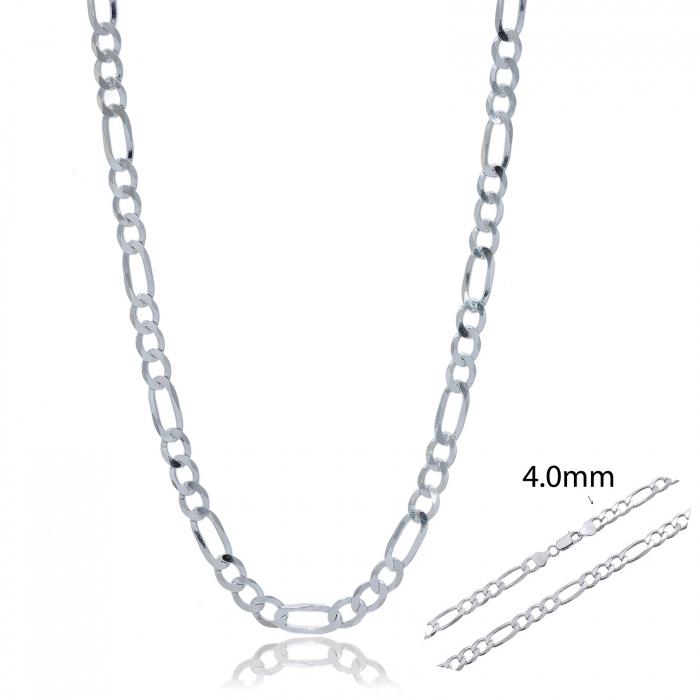 Lant Figaro barbatesc din Argint 925% ,lungime 55cm [2]