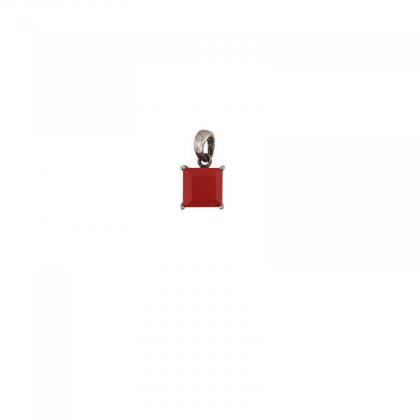 Medalion Argint 925% ,coral rosu 2118A [0]