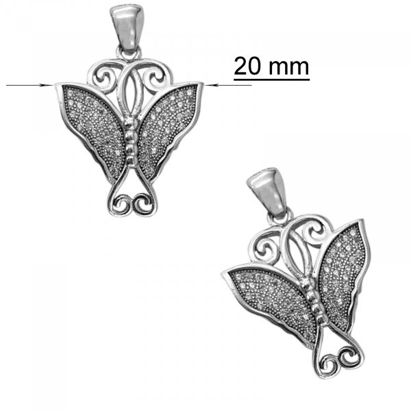 Medalion Argint 925% fluturas Jolly [1]
