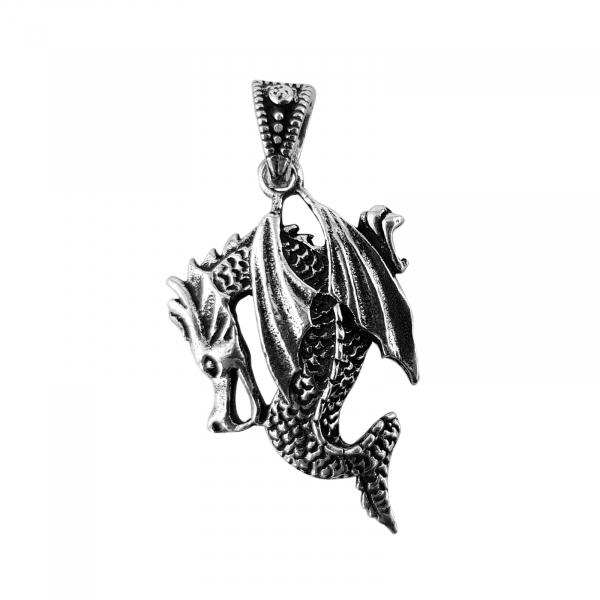 Medalion Argint 925% Dragon [0]