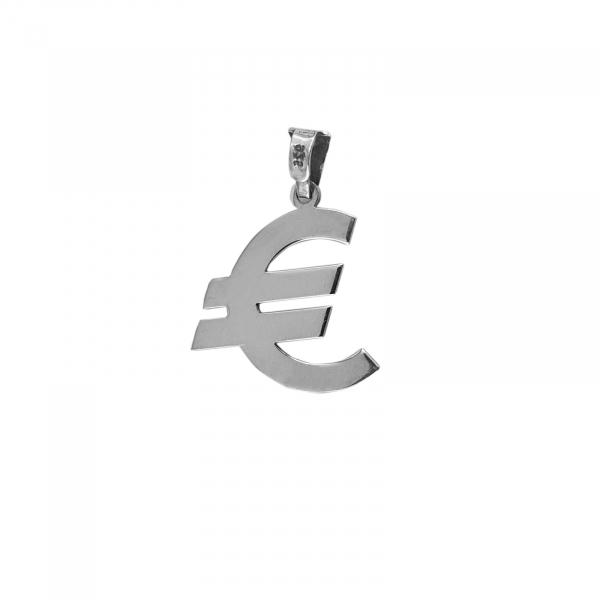 Medalion Argint 925% cu simbolul Euro [0]