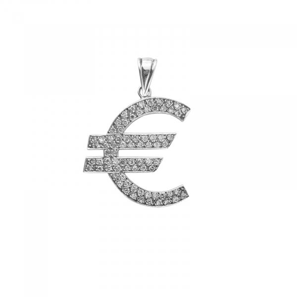Medalion Argint 925% Shiny Euro [0]