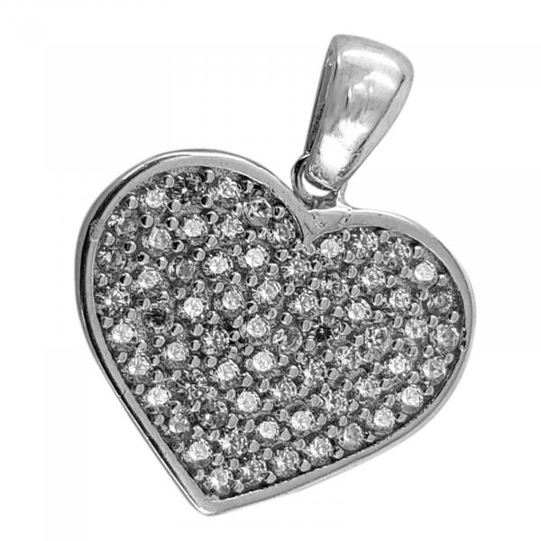 Medalion Argint 925% Glowing Heart [1]