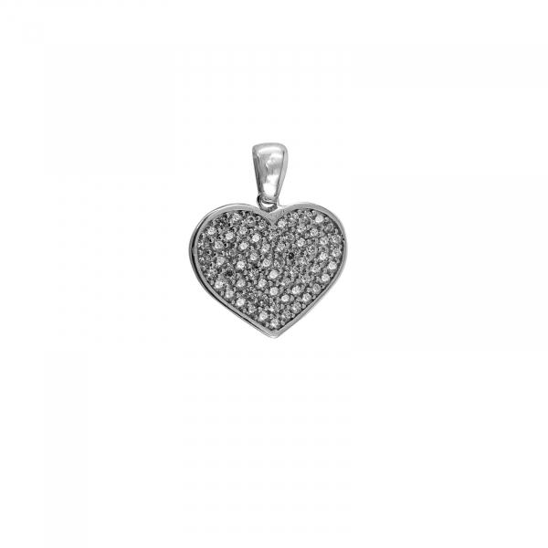 Medalion Argint 925% Glowing Heart [0]
