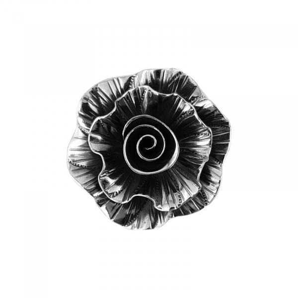 Medalion Argint 925% usor antichizat Rock-Rose [0]