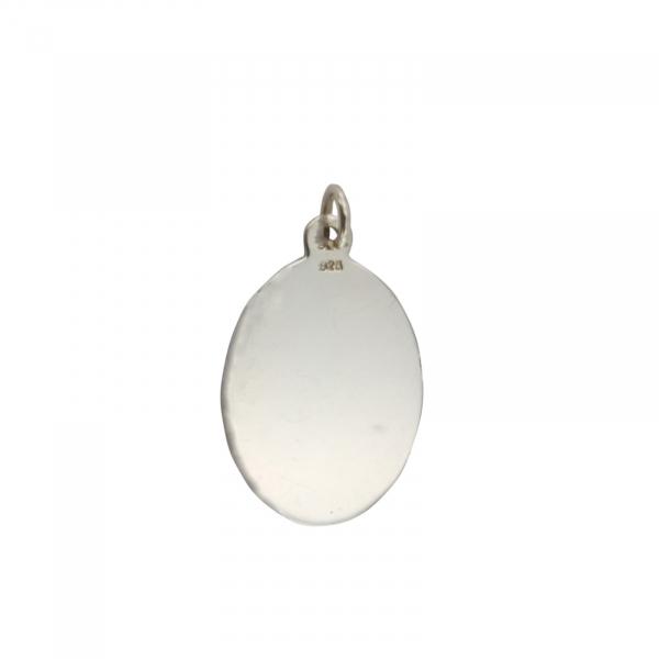 Pandantiv Argint 925% placuta ovala 1470 [0]