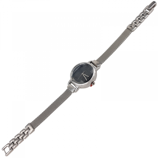 Ceas Argint 925% cu cadran negru [3]