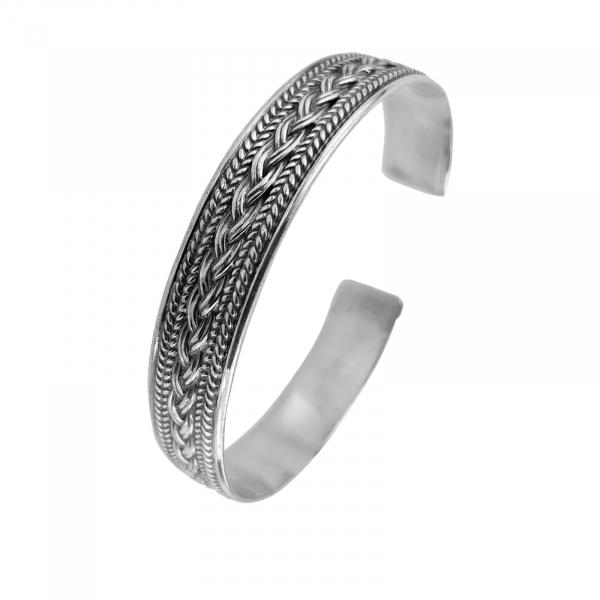 Bratara fixa din Argint 925% Twine [0]