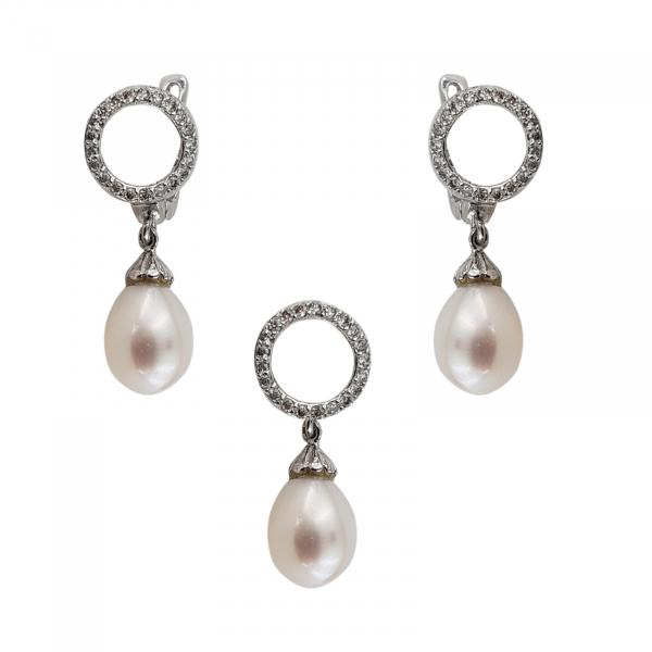 Set Argint 925% cu perle de cultura Mystic Shell [0]