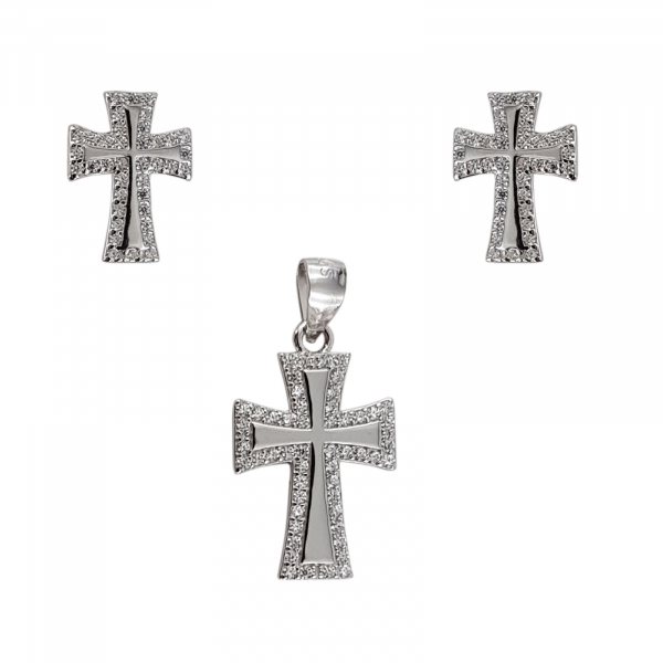 Set Argint 925% Silver Cross [0]
