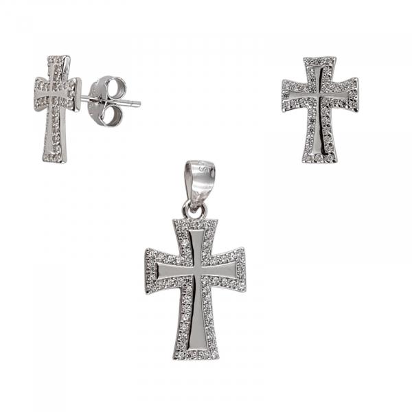 Set Argint 925% Silver Cross [1]