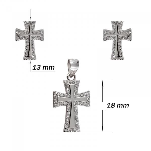 Set Argint 925% Silver Cross [2]