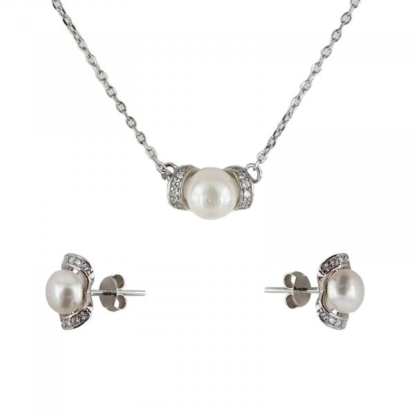 Set Argint 925% cu perle Shiny Shell [1]