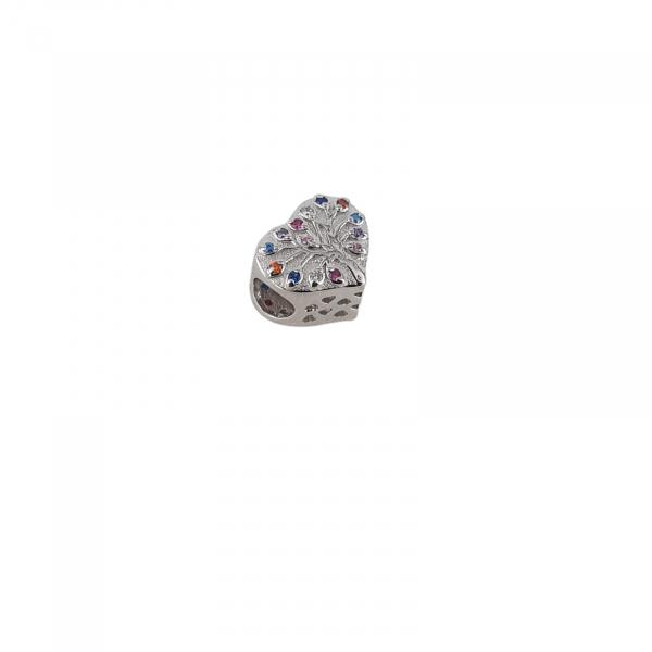 Talisman Argint 925% Jazzy Heart [0]