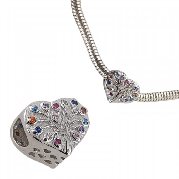 Talisman Argint 925% Jazzy Heart [1]
