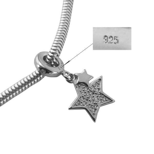 Talisman Argint 925% Sparkling Star [2]
