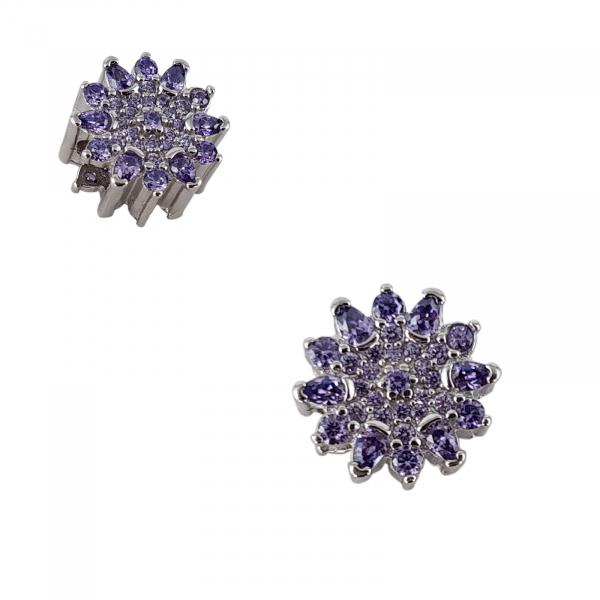 Talisman Argint 925% Purple Flower [1]
