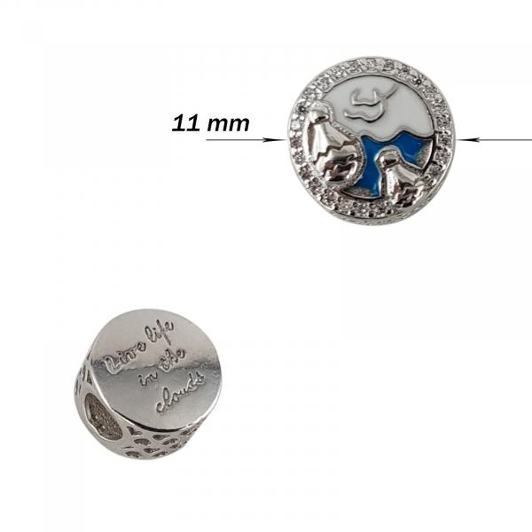 Talisman Argint 925% Blue Clouds [1]