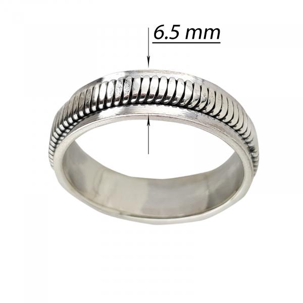 Inel Argint 925% antistres Hefty [2]