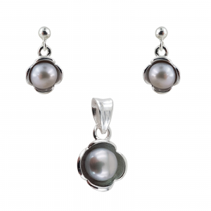 Set Argint 925% cu Perle de Mallorca [0]