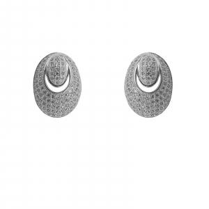 Cercei Argint 925% Prime cu  zirconia albe [1]