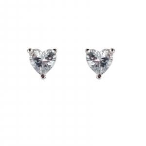 Cercei Argint 925% Sparkling Heart [0]