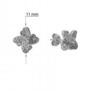 Cercei Argint 925% Hearts4 [2]