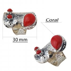 Inel Argint cu Coral [2]