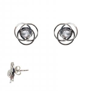 Cercei Argint 925% cu perla centrala [0]