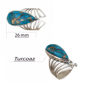 Inel Argint cu turcoaz [2]